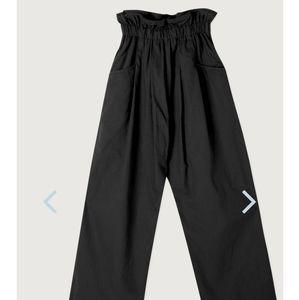 Oak + Fort 4551 pant in black size s